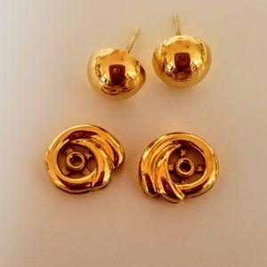 14Kt Gold Earrings & Enhancers